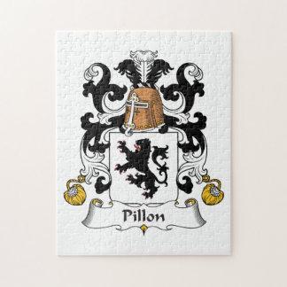 Escudo de la familia de Pillon Puzzles Con Fotos