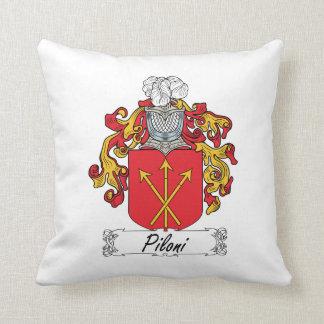 Escudo de la familia de Piloni Cojin