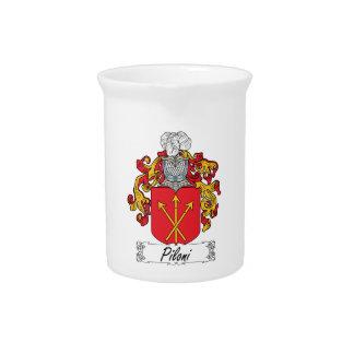 Escudo de la familia de Piloni Jarras