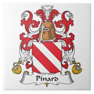 Escudo de la familia de Pinard Azulejo