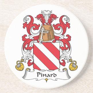 Escudo de la familia de Pinard Posavasos Diseño