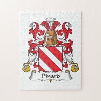Escudo de la familia de Pinard Rompecabeza