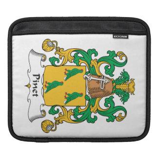 Escudo de la familia de Pinet Fundas Para iPads