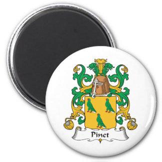 Escudo de la familia de Pinet Imanes De Nevera
