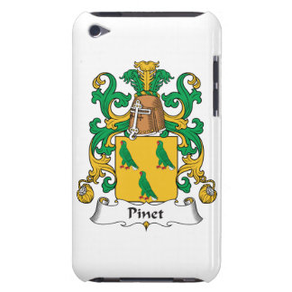 Escudo de la familia de Pinet iPod Touch Funda