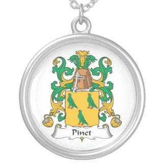 Escudo de la familia de Pinet Pendiente