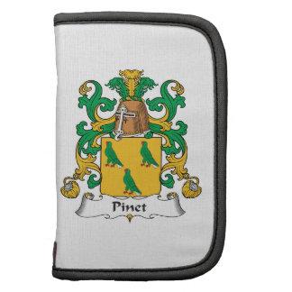 Escudo de la familia de Pinet Planificador