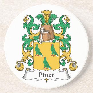 Escudo de la familia de Pinet Posavasos Manualidades