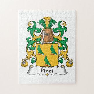 Escudo de la familia de Pinet Puzzle