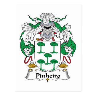 Escudo de la familia de Pinheiro Postal