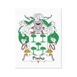 Escudo de la familia de Pinho Impresiones En Lienzo Estiradas