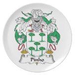 Escudo de la familia de Pinho Plato