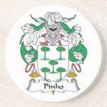 Escudo de la familia de Pinho Posavasos Diseño