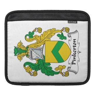 Escudo de la familia de Pinkerton Fundas Para iPads