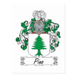 Escudo de la familia de Pino Postal