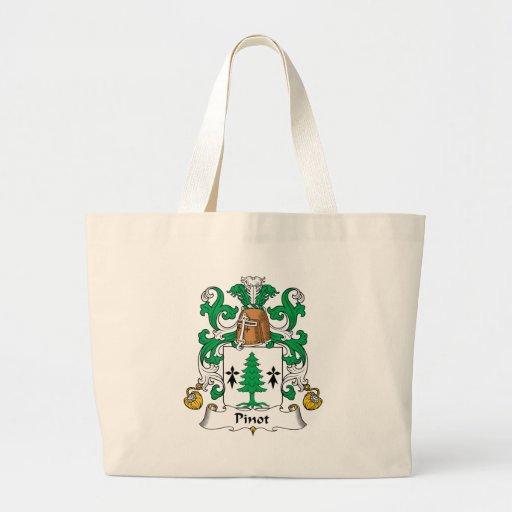 Escudo de la familia de Pinot Bolsa Tela Grande