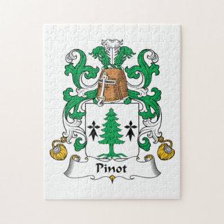 Escudo de la familia de Pinot Rompecabeza
