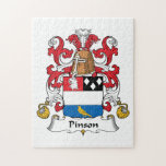 Escudo de la familia de Pinson Puzzles