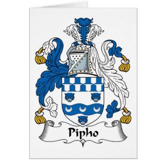 Escudo de la familia de Pipho Felicitaciones