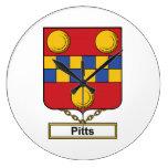 Escudo de la familia de Pitts Relojes