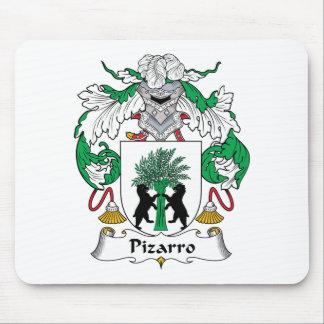 Escudo de la familia de Pizarro Alfombrillas De Ratones