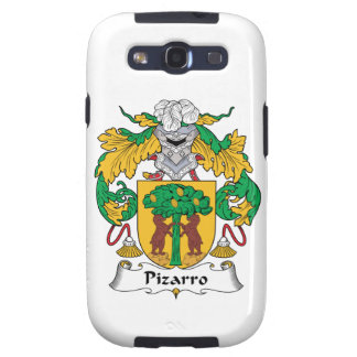 Escudo de la familia de Pizarro Galaxy SIII Fundas