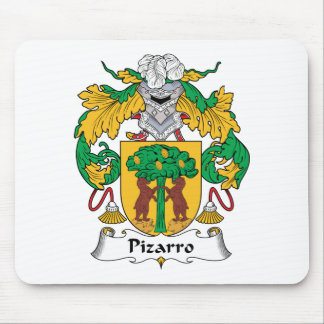 Escudo de la familia de Pizarro Tapetes De Ratones