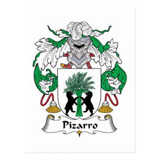 Escudo de la familia de Pizarro Tarjetas Postales