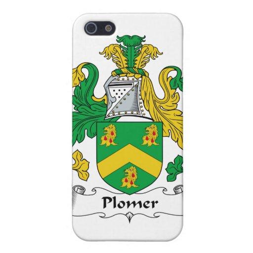 Escudo de la familia de Plomer iPhone 5 Carcasas