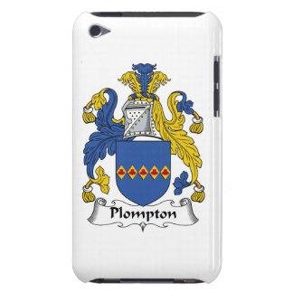 Escudo de la familia de Plompton iPod Touch Carcasas