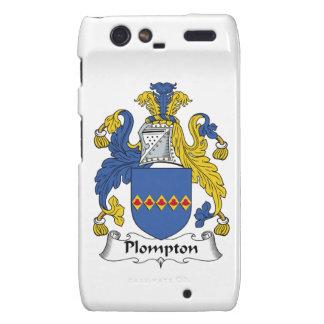 Escudo de la familia de Plompton Droid RAZR Carcasa