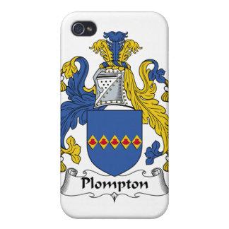 Escudo de la familia de Plompton iPhone 4/4S Carcasa
