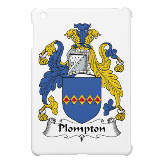 Escudo de la familia de Plompton iPad Mini Carcasa