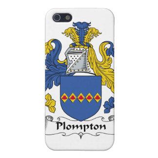 Escudo de la familia de Plompton iPhone 5 Funda