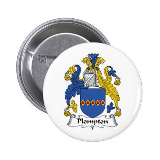 Escudo de la familia de Plompton Pins