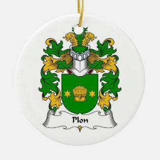 Escudo de la familia de Plon Ornamento De Reyes Magos