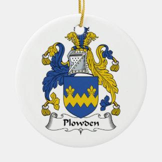 Escudo de la familia de Plowden Ornamentos De Reyes Magos