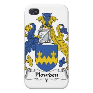 Escudo de la familia de Plowden iPhone 4 Fundas