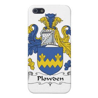 Escudo de la familia de Plowden iPhone 5 Funda