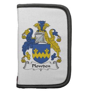 Escudo de la familia de Plowden Organizador