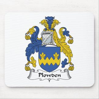 Escudo de la familia de Plowden Alfombrilla De Ratón