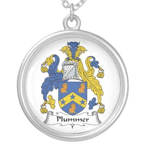 Escudo de la familia de Plummer Pendiente