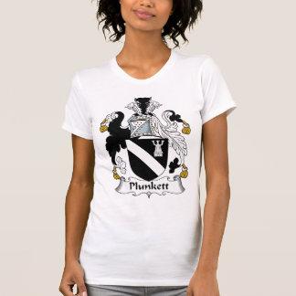 Escudo de la familia de Plunkett Camisetas