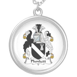 Escudo de la familia de Plunkett Colgante