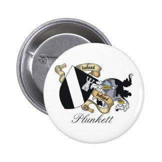 Escudo de la familia de Plunkett Pin