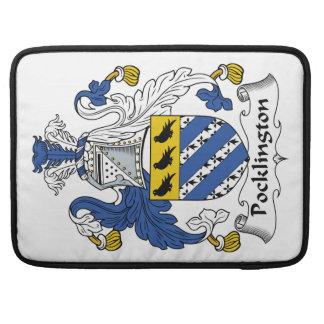 Escudo de la familia de Pocklington Funda Macbook Pro