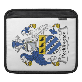 Escudo de la familia de Pocklington Funda Para iPads