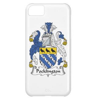 Escudo de la familia de Pocklington Funda Para iPhone 5C