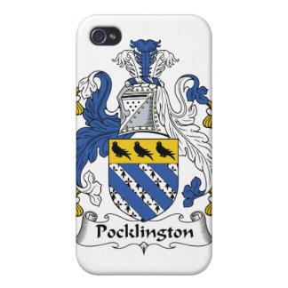 Escudo de la familia de Pocklington iPhone 4 Funda
