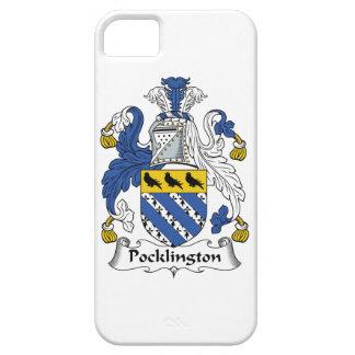 Escudo de la familia de Pocklington iPhone 5 Carcasa